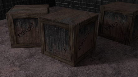 Boxes Of Explosives by TallPaul3D