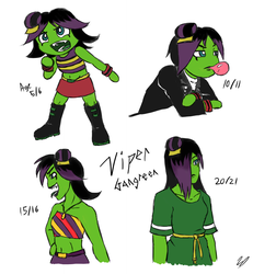Viper - Throughout the Years by Eleanorose123