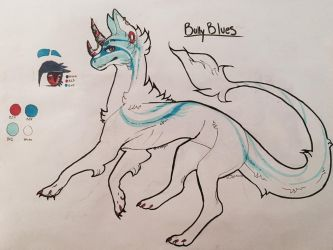 Bully Blues - Raffle Flatsale JBD adopt by Ovacalix