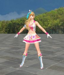 Naotora - Pop Idol - Toe-Bones-Toes by HillMaker