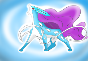 Suicune by PokeChacha
