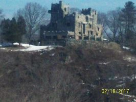 William Gillette Castle Winter 2017 by Transformerbrett97