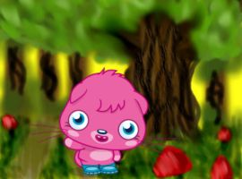 Poppet in the forest by Paco-Taco14