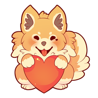 COMMISSION: Chibi Pomeranian by SeviYummy