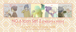 NO.6 icon set 02 by EdotenseiHime