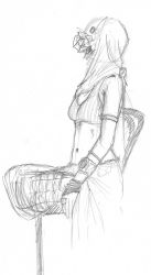 Dr Sketchy's 2-8-11 by broken-toy