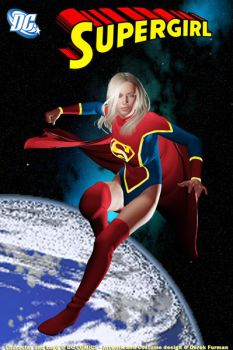 Supergirl Traditional Colors by dlfurman