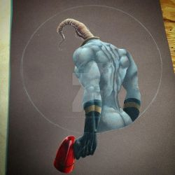 Earthworm Jim WIP. by ShannonStamey