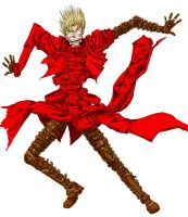 Fall Vash xnot completedx by OraLacerta