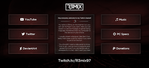 R3mix | New Twitch Buttons! by R3mix97
