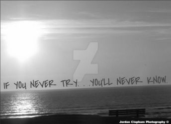 If you never try, you'll never know by Clapham1994
