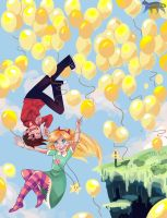 Balloons by StarPaw007