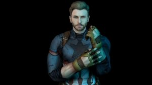 Captain America from Infinity War FIX by NosbornGG