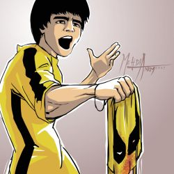 Bruce Lee Wins by mehdianim