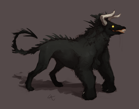 beast concept by Wolframclaws