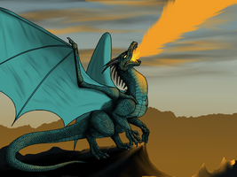 Tayto Dragon by crazylunagirl