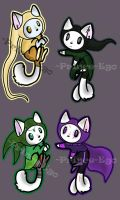 Kittens Adopts Homestuck related [CLOSED] by Prince-Ego