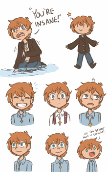 Davey Sketches by beanbagbrianna