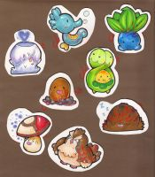 Pokemon Stickers 01