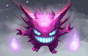Lavender Team: Gengar by Dragolisco