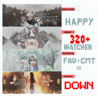 [PSD] SHARE P.2 /// HAPPY 320+ WATCHER by mthej