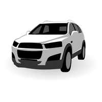 Chevrolet Captiva vector by ivprogrammer