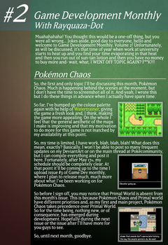 Game Development Monthly - Issue #2 by Rayquaza-dot