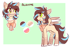 Alleviyae | Ref by AmiiCommissions
