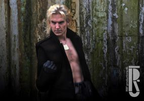 Metal Gear Solid - Liquid Snake cosplay by RBF-productions-NL