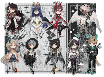 mixed adopt : flat prices + Raffle! [done] by nemcrsd