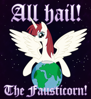 All Hail, The Fausticorn! by Gray-Wolf11