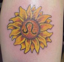 Leo Sunflower by Mr-Taboo