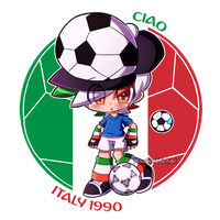 [World Cup Mascots] - Ciao by KawaiiRebichan