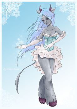 Girl deer for ArcheAge by Espiransa
