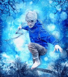 Jack Frost - with Snowfall Animation by JassysART