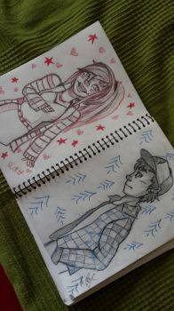 ..Mabel and Dipper.. by muscardin
