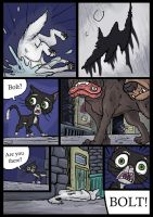Bolt, Dog Fight deleted Scene. Pg 5 of 6. by wolfmarian