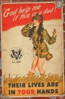Propaganda Pinups - God Help me if this is a dud! by warbirdphotographer