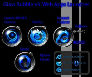Glass Bubble v3 - WebApps by KuGinh