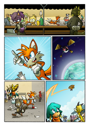 Sonic's World - The Sting Page 2 by MamboCat