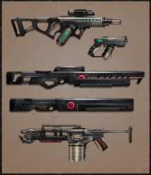 CotV: Special Weapons by Prospass