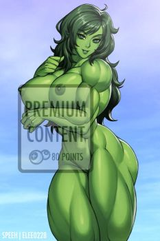 She-Hulk Nude (Premium Content) by elee0228