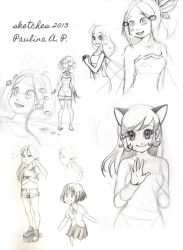 Sketches'13 by Paulina-AP