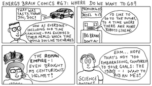 Energy Brain Comics #67: Where do we want to go? by EnergyBrainComics