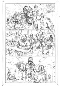 Legacy x-men samples pages 3 by Geniss
