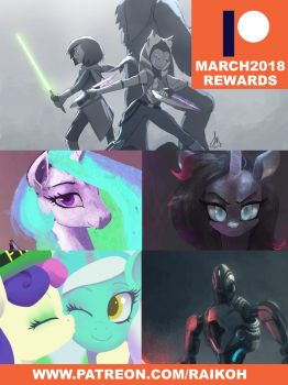 March-patreon-rewards by Montano-Fausto