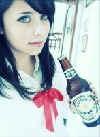 Sapporo Beer by LaPetiteJolie
