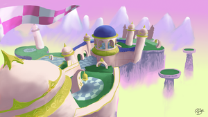 Wizard Square - Spyro Fan Level Concept by RubberRabbit2