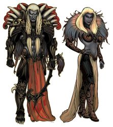 Dark Elves by stonewurks