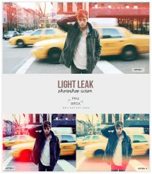 Light Leak - Photoshop Actions (free) by friabrisa